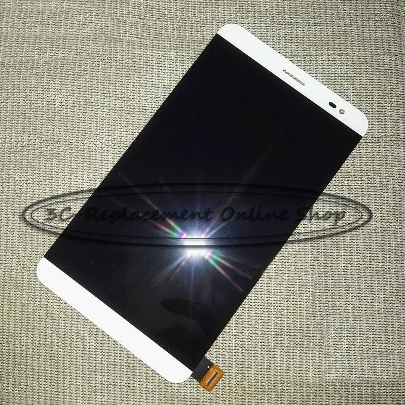 imágenes para Blanco/oro para mediapad huawei honor x2 x2 gem-703l gem-703lt gem-702l lcd display + touch screen reemplazo digitalizador asamblea