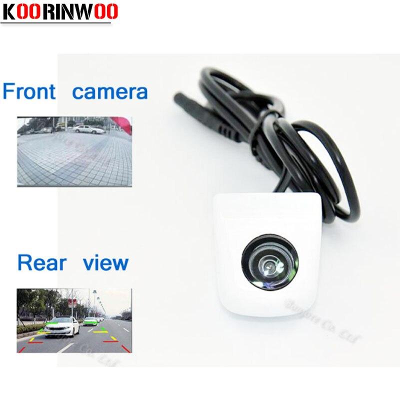 ΞKoorinwoo HD CCD universal coche blanco cámara frontal/cámara de ...