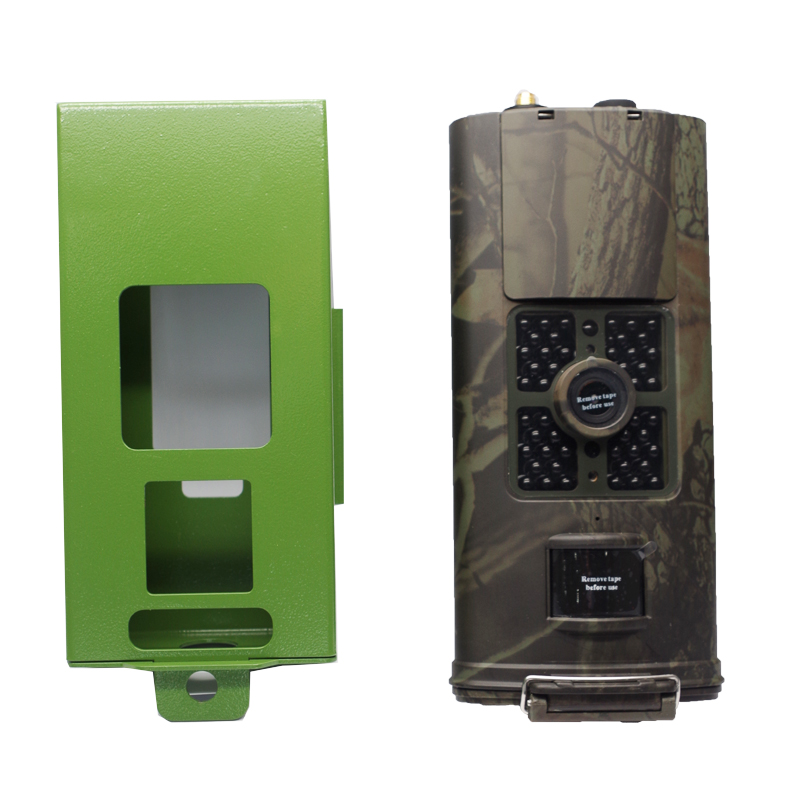 HC700 Series Security Protection Metal Case Iron Lock Box <font><b>3G</b></font> Hunting Camera for HC700A HC700M <font><b>HC700G</b></font> Hunting Camera Photo Trap image