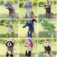 Infant Children Hand Puppet Kids Baby Plush Stuffed Toy NICI Animal Series With Foot Puppets Toys