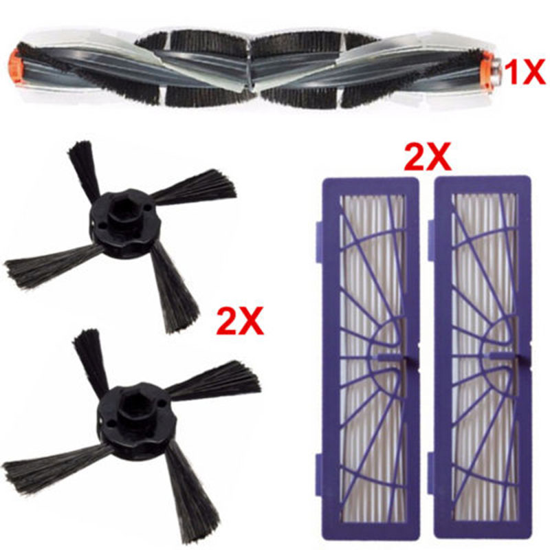 Combo Side Brush HEPA Filter Kit for Neato Botvac Series 70e 75 80 85 Cleaner cleaning brush accessories