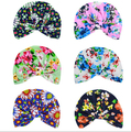 2016 New 5pcs/lot newborn photography props Flower Pocket Hat Bohemia Style Child Hat Knotting Boys Girls Kids Hat &Caps