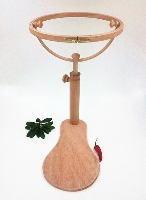 Dia28cm bordado aro de madera Cruz estante Lacis tambor redondo ...