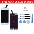 100% New White LCD Display with Touch Screen Digitizer Assembly Replacement + Repair Tool for Apple iphone 5S+ Retail Box