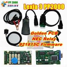 Lexia3 pp2000 диагностический с Diagbox v7.83 FW 921815c и оригинальная полный чип полный Функция Lexia 3 PP2000 Lexia 3 lexia-3