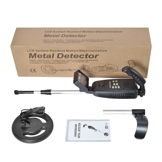 Underground Metal Detector MD-3500 MD3500 Treasure Hunting Detector Metal Search Gold Silver Detector Stud Finder Metaaldetector 5
