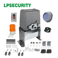 Waterproof Aluminum Body 6m Chain Driven Operation Electric Sliding Gate Opener Engine For 500kg Gate