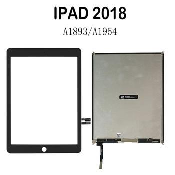 Ремонт экрана для IPad 9,7 2018 версия A1893 A1954 сенсорный экран дигитайзер панель и ЖК-дисплей для IPad 6 6th Gen A1893 A1954