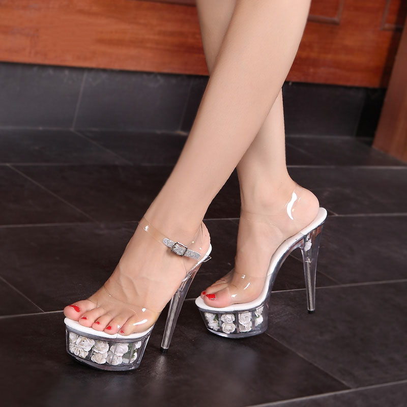 Aliexpress.com : Buy 2016 Fetish High Heels 15cm Stiletto Sandals ...