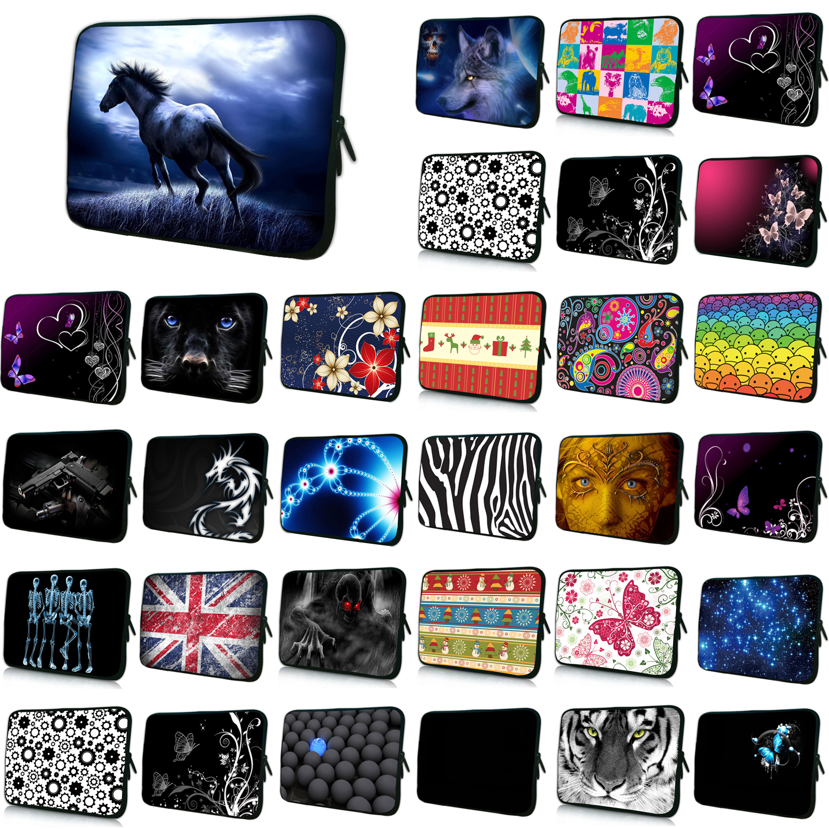 7 8 Mini PC Tablets Slim Liner Sleeve Cases 10 17 Laptop Bag 15.6 15.4 14 13.3 13 12.1 12 11.6 inch Netbook Shell Pouch Case