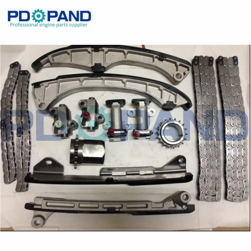3UR 3URFE 3UR FE Engine Timing Chain Gear Tensioner Kit for Toyota LANDCRUISER 5700 URJ200 5
