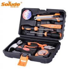 8pcs Home Hardware Electrician Repair Electric Tool Set Multifunctional Tools Carpentry Combination Manual Toolbox