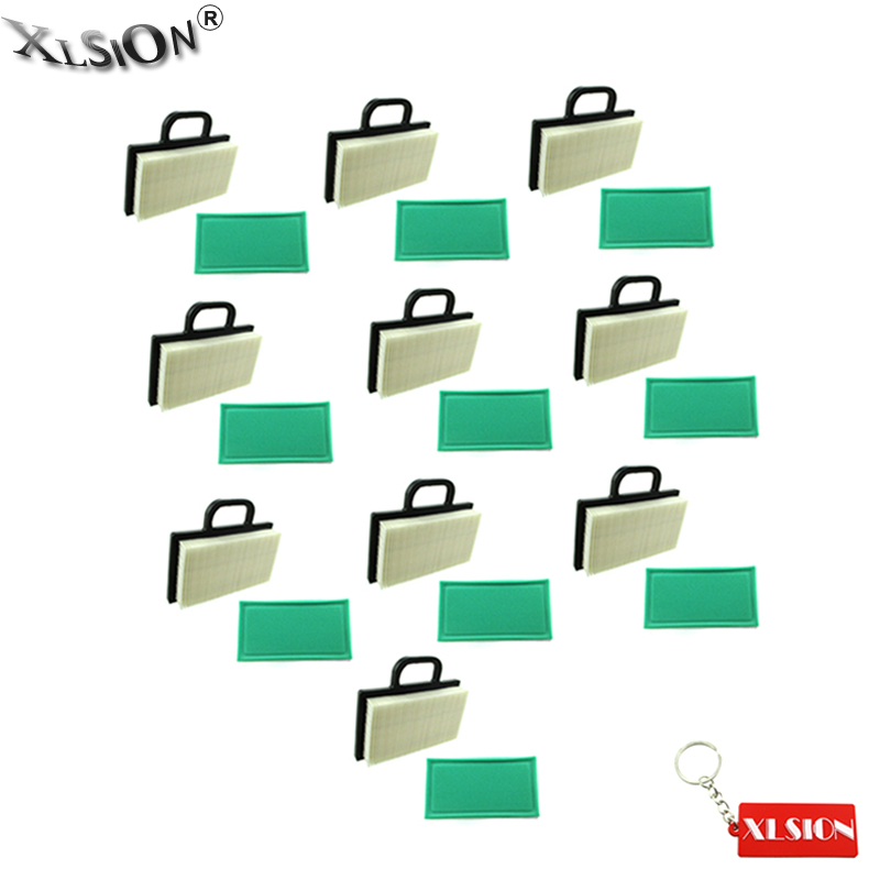 XLSION 10x Air Pre Filters Fits Briggs Stratton 273638S 499486S 698754 For 405700 407700 18 22HP