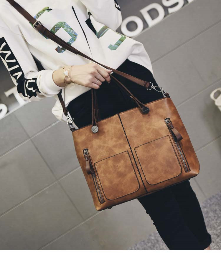Tinkin Vintage   Shoulder Bag Female Causal Totes for Daily Shopping 6