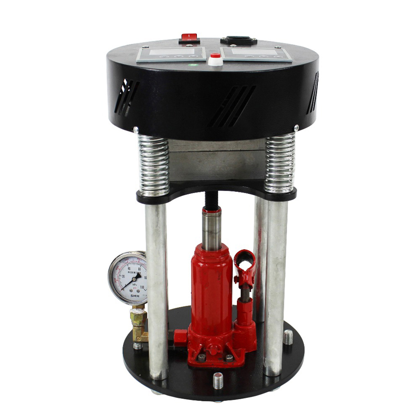 MP180 Manual High Pressure Hot Press Hydraulic Hot Press Hot Stamping Machine English Manual 600W