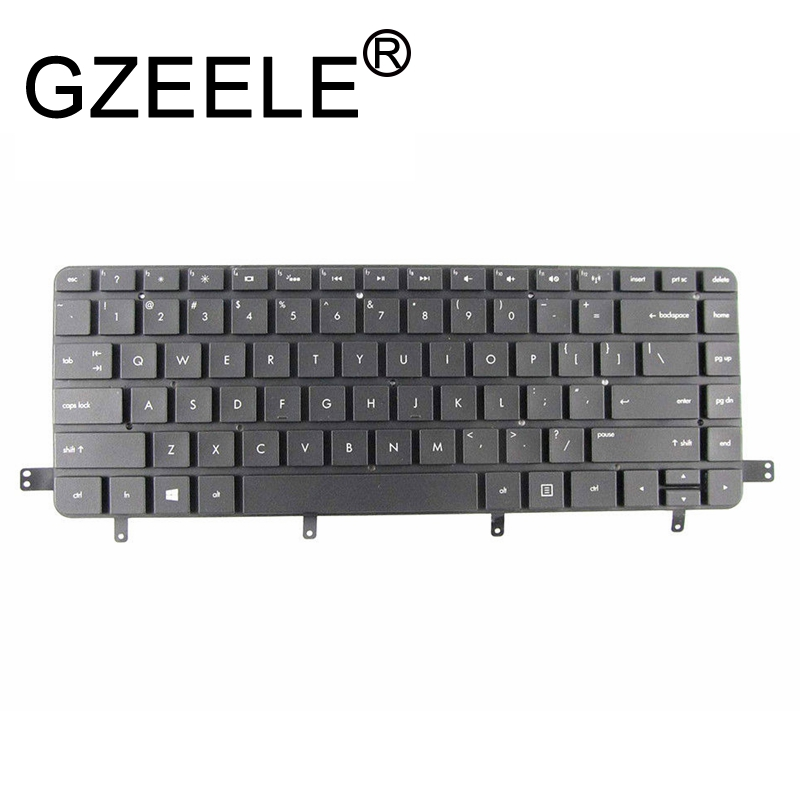 GZEELE English US Laptop Keyboard For For HP Spectre XT TouchSmart Ultrabook 15-4000 15-4010NR 15-4011NR Keyboard Backlit With