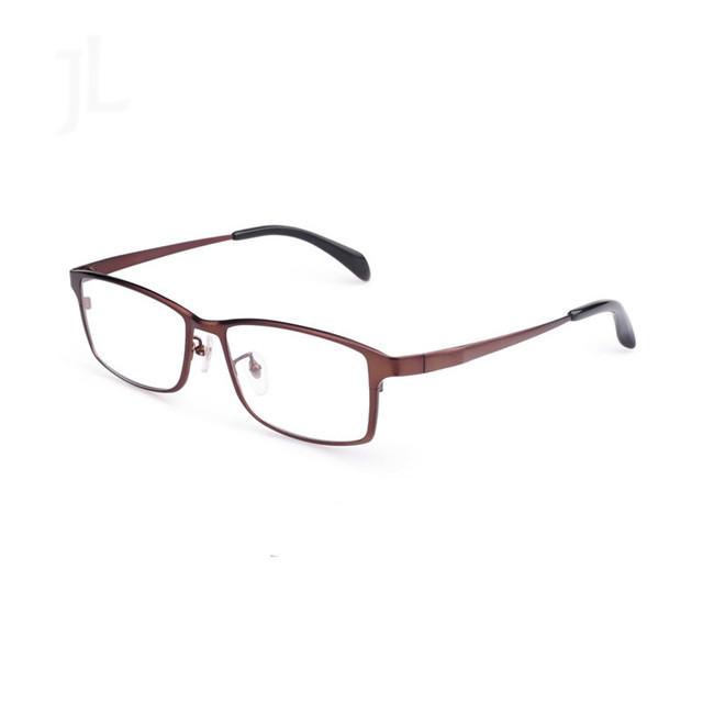 2016 100% Modelos De Negócio de Alto grau de Titânio Puro óculos de Miopia Vidros Ópticos Quadros COMPLETOS homens enfrentam grandes óculos moldura de vidro tg1088