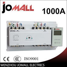 1000A 3 phase automatic transfer switch ats with English controller