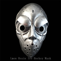 Adults Size Stock fast shipping Halloween Cosplay Resin Mask Payday 2 Movie Theme Resin mask Ice Hockey Mask Free shipping