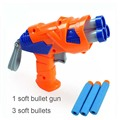 Pistola de Paintball Pistola y Suave Nerf Pistola de Tiro de Bala Agua Arma De Cristal Nuevas pistolas de juguete Envío Gratis