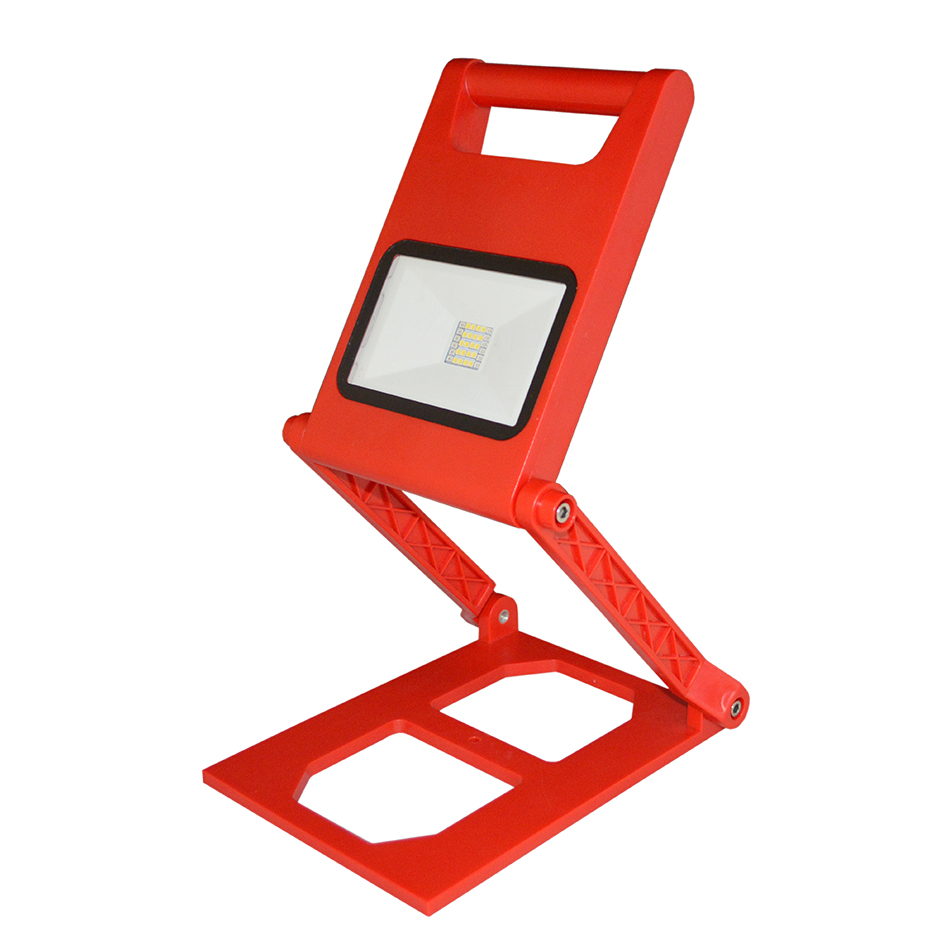 Geoeon LED Foldable Outdoor Panel Light Multi Function Portable Building Emergency Light Rechargeable Home Strobe Work