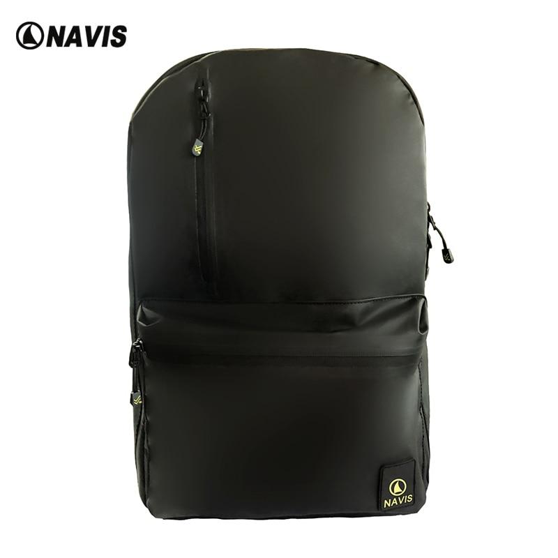 c4d2de2295b NavisMarine Waterproof Travel Laptop Backpacks Lightweight for Womens Boys  Girls School Bookbags