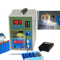 Micro computer Spot Welding & Battery Charger Portable LED Pulse 18650 Battery Spot Welder 787A+