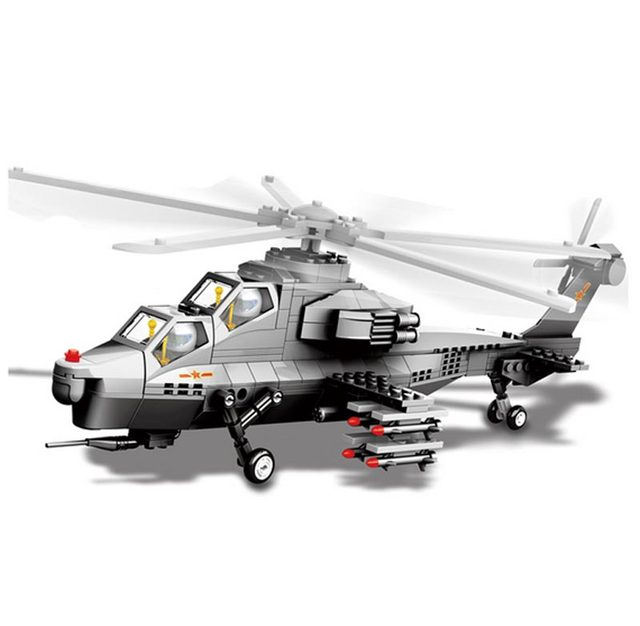 Online Shop Models Building Toy Jx002 Wz 10 Helicopter Airplane
