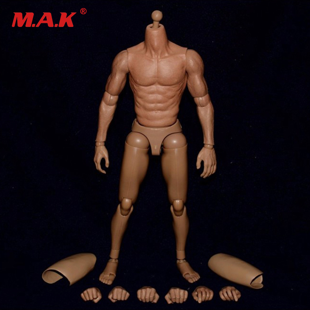 1/6 Scale Male Body Figure Nude Muscular Narrow Shoulder Figures Asian Color for Donnie Yen Action Figure Doll Toys 1 6 scale ancient figure doll gerard butler sparta 300 king leonidas 12 action figures doll collectible model plastic toys