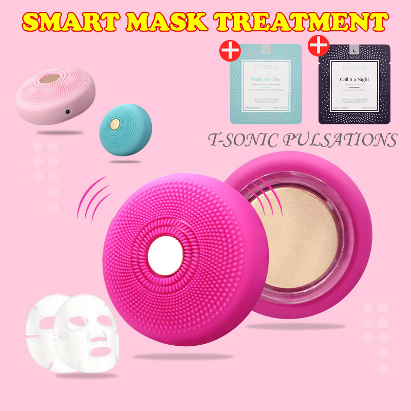 2018 newest design beauty tech revolutionizes foreo ufo spa face masks in 90 second