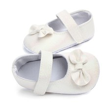 d54a918dac7854 Toddler Newborn Baby Shoes Sequined Shiny Soft Sole Baby Girl Shoes  Anti-slip PU Bow