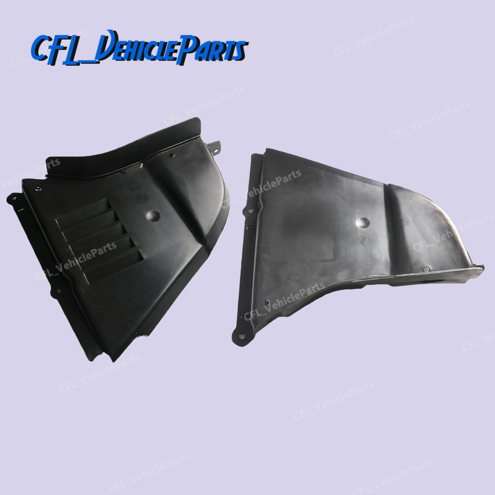 Защитная крышка для двигателя LH + RH, Нижняя крышка 51717033753 51717033754 для BMW 5 серии 530i 550i 530xi 2006 2007 545i 2004 2005