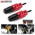 For Kawasaki Z1000 Z1000SX 2013-2015 Red Motorcycle Crash Pads Exhaust Sliders Crash Protector