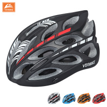 VEOBIKE Ultralight Bicycle Helmet Cycling Helmet Integrally-molded Road Bike Equipment Helmet Capacete Casco Ciclismo 58-65 CM