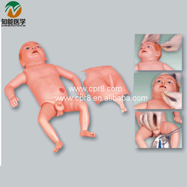 BIX-H140 Infant Nursing Care Model Advanced Baby Nursing Models bix h2400 advanced full function nursing training manikin with blood pressure measure w194