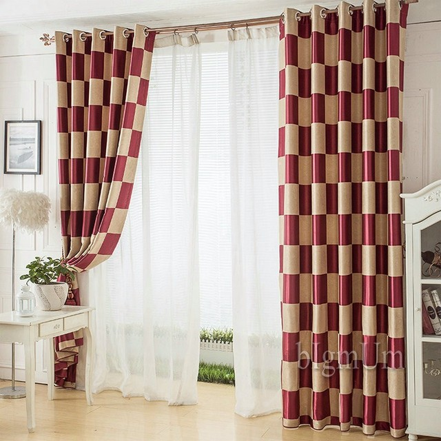Rideaux modernes et traitements de fenêtre pour rideau de salon ...