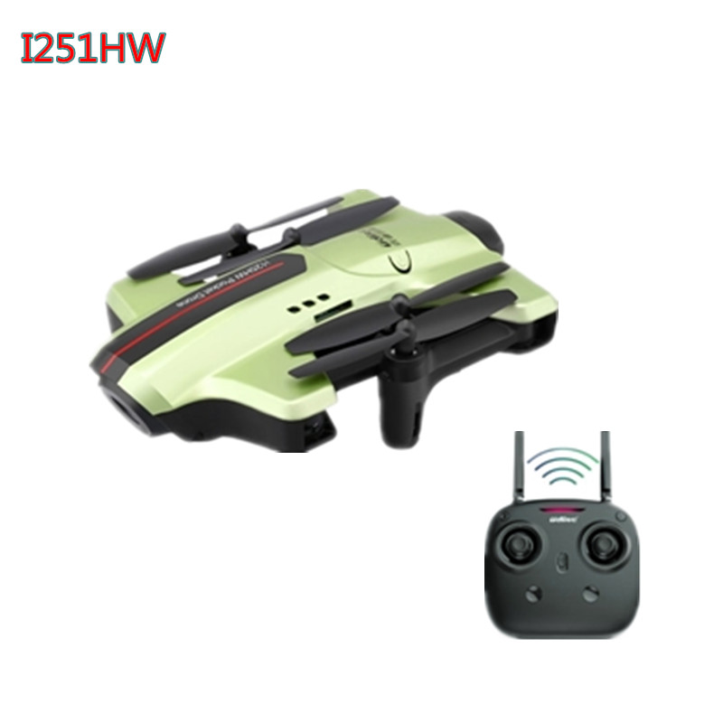 REikirc UDI WIFI FPV Mini Drone 2MP Camera Headless RC Quadcopter RTF 2.4GHz Real-time Transmission Collapsible Aircraft