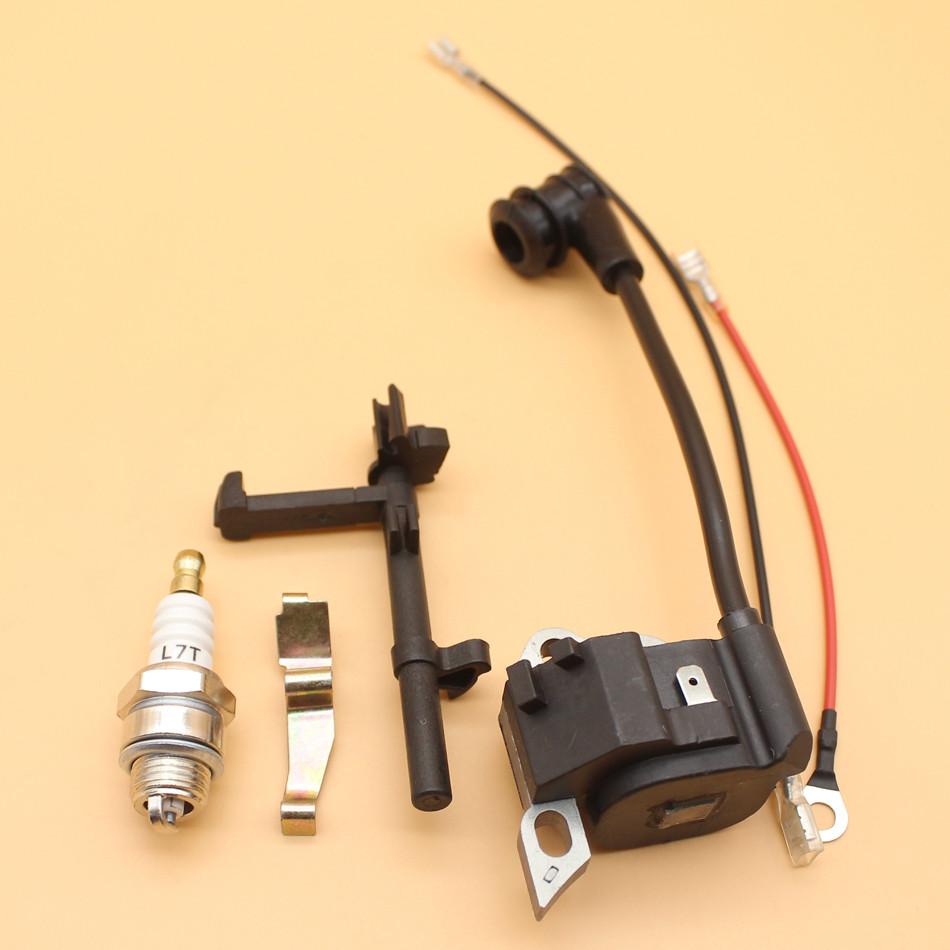 f10004240e6fd Bobina de ignição Interruptor Eixo Primavera Spark Plug Kit Para ...