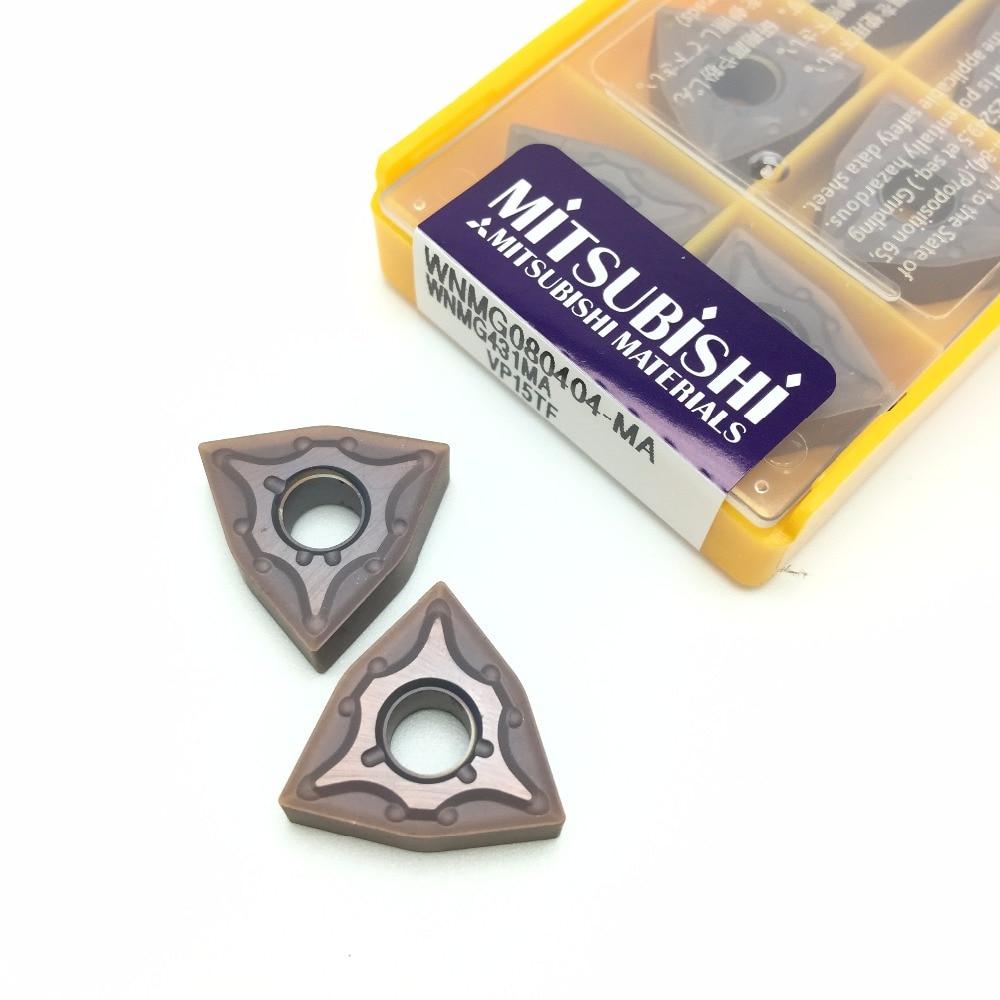 10pcs External Turning Tools WNMG080404 MA VP15TF Carbide inserts Cutting Tool CNC Tools Lathe cutter tools цена 2017