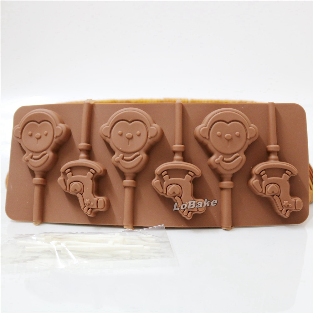 Chocolate Monkey Molds Promotion-Shop for Promotional Chocolate ...
