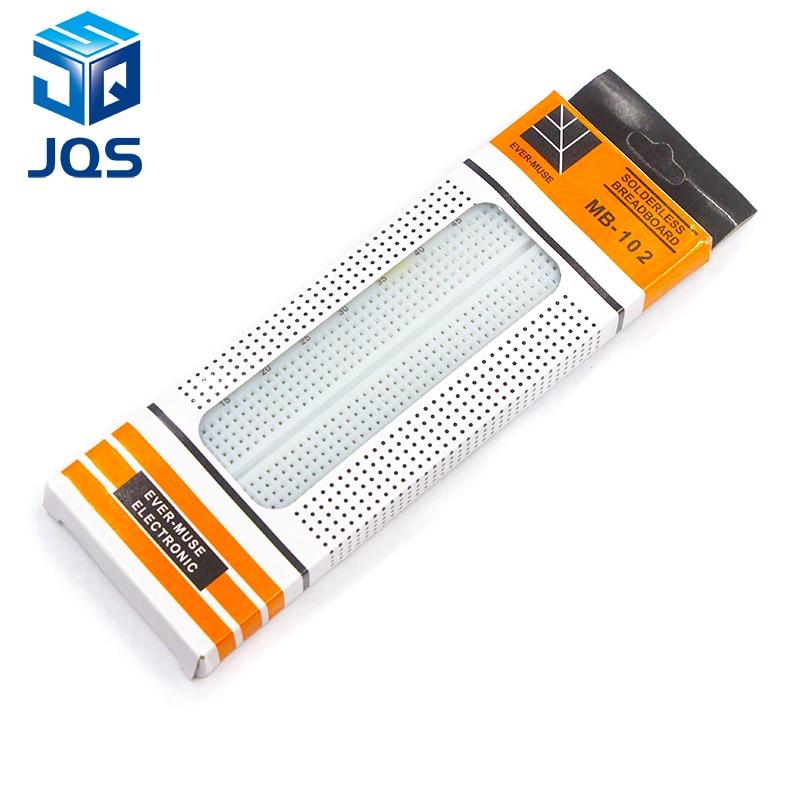 1pcs Breadboard 830 Point Solderless PCB Bread Board MB-102 MB102 Test Develop DIY