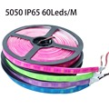 Multicolor PCB 5M 300 LEDS 5050 SMD Waterproof IP65 LED Flexible LED Strip Light DC12V LED Tape Ribbon Blue/Orange/Pink/Purple
