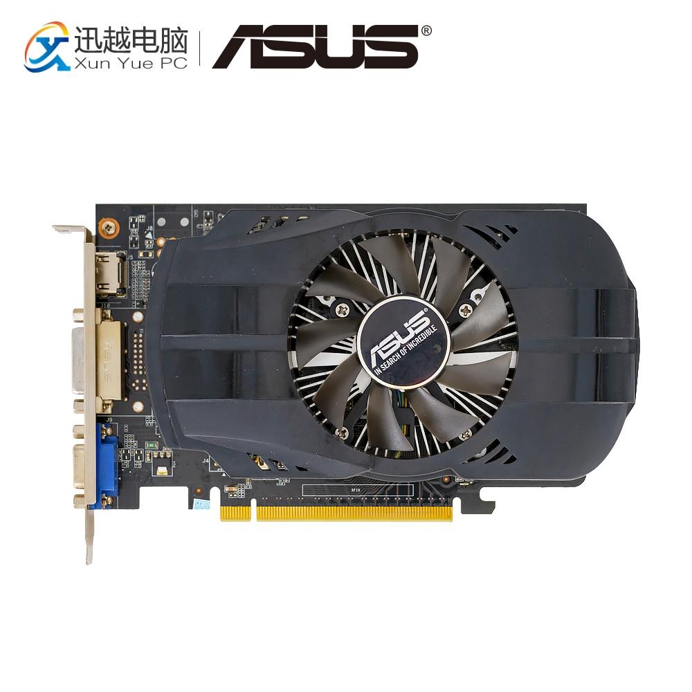 ASUS GTX750TI-FML-OC-2GD5 Original Graphics Cards 128 Bit GTX 750 TI 2G GDDR5 Video Card VGA DVI HDMI 1072MHz~1150MHz GTX750TI onda gtx750ti 2gd5 2g graphics card