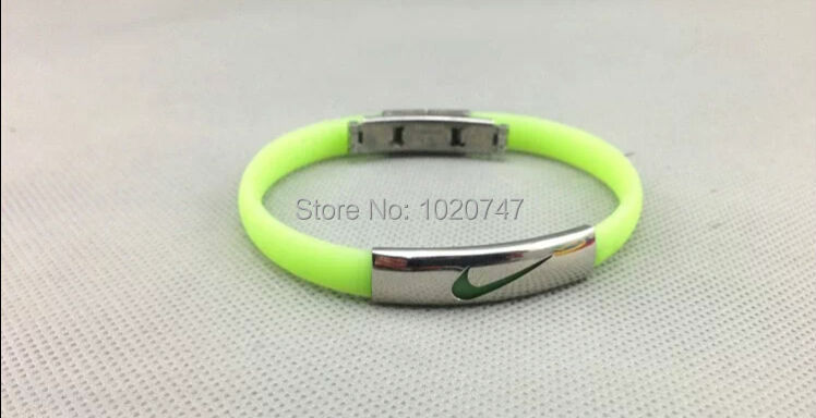 Dhl Free Shipping Best Er Silicone Negative Ion 2000 Health Energy Balance Bracelet Benefit For Body In Charm Bracelets From Jewelry
