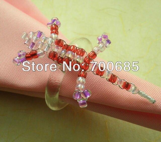 bulk cheap napkin ring acrylic wedding napkin holder qn13072205in