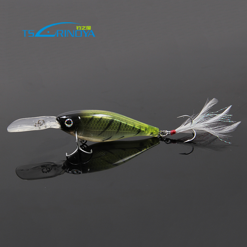 aliexpress : buy trulinoya fishing lures shad minnow 80mm 13g, Fishing Bait