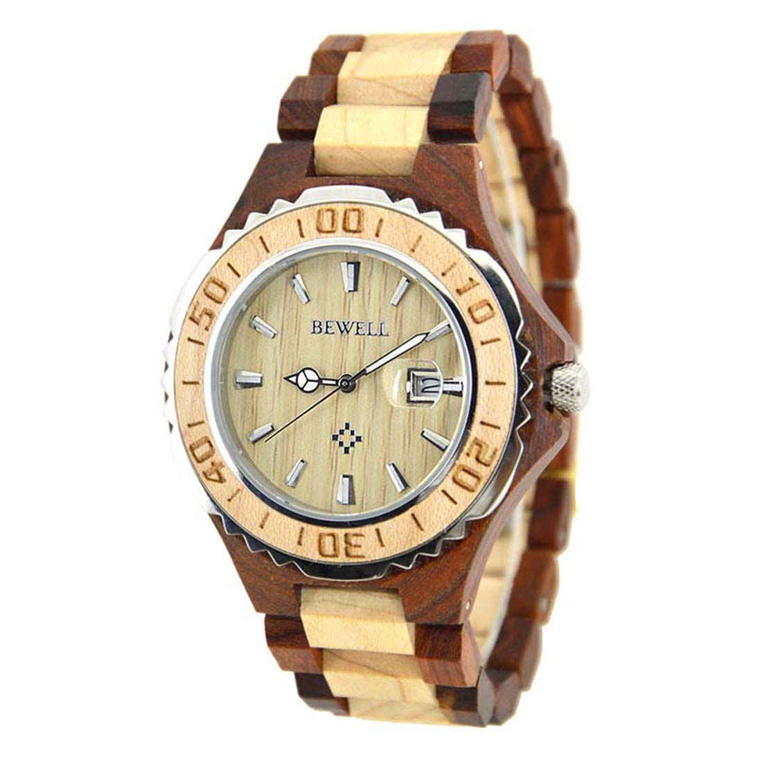 2018 Luxury Men Wrist Watch Wooden Watches Maple Wood Japan Movement Quartz Bamboo Clock Wood Gift Relojes Hombre 2018 dwg brand new wooden watch japan quartz movement rhinestone ladies fashion brown wrist watches women cherry wood clock with box