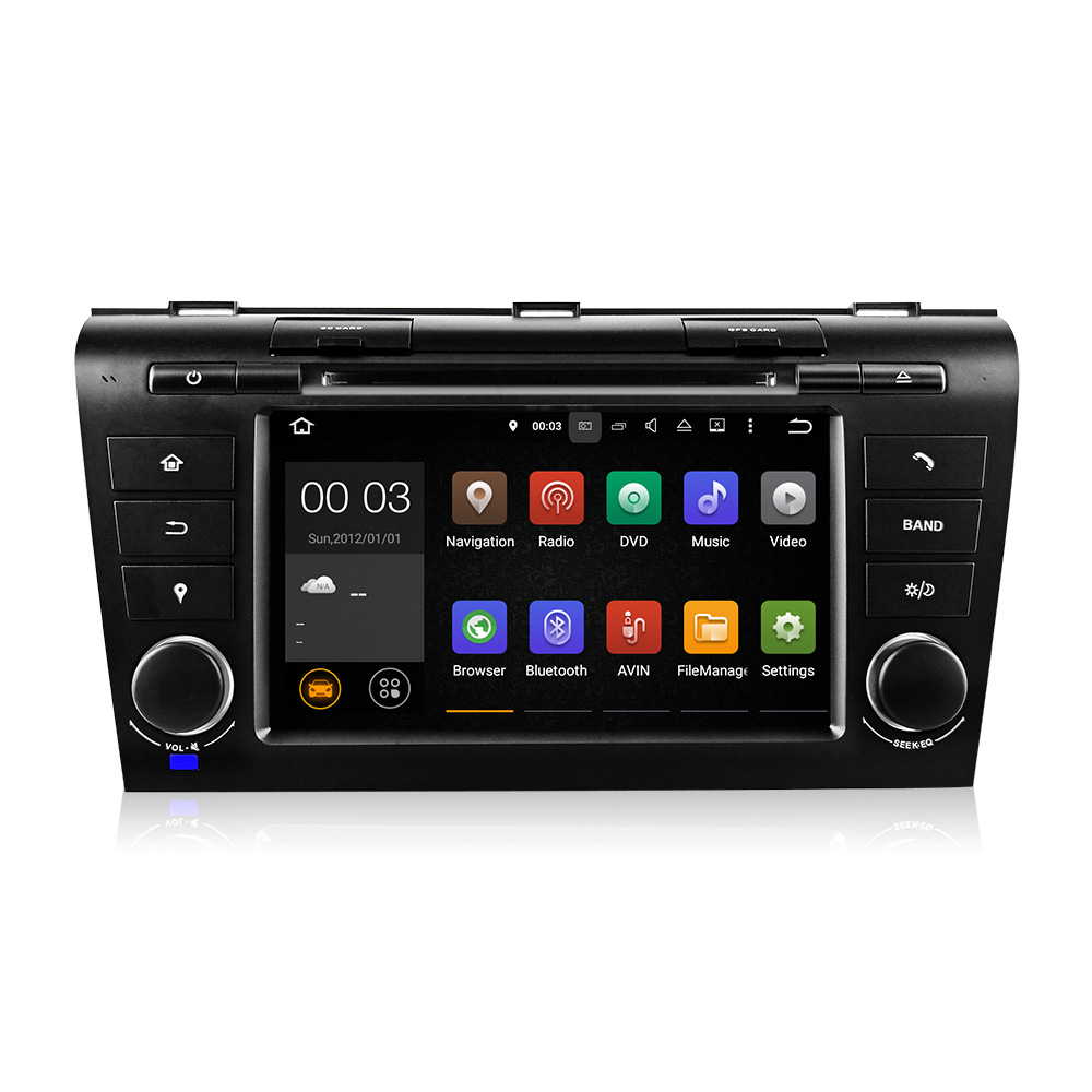 Free Shipping Android 5 1 Car DVD Player with GPS System For Mazda3 Mazda 3 2004