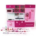 Som Luz Baby Puzzle Brinquedos de Plástico para Crianças Jogo de Cozinha de Brinquedo DEFINIR ABS Olá Kitty Menina Fingir 2016 Dom Brinquedos de Cozinha jogar