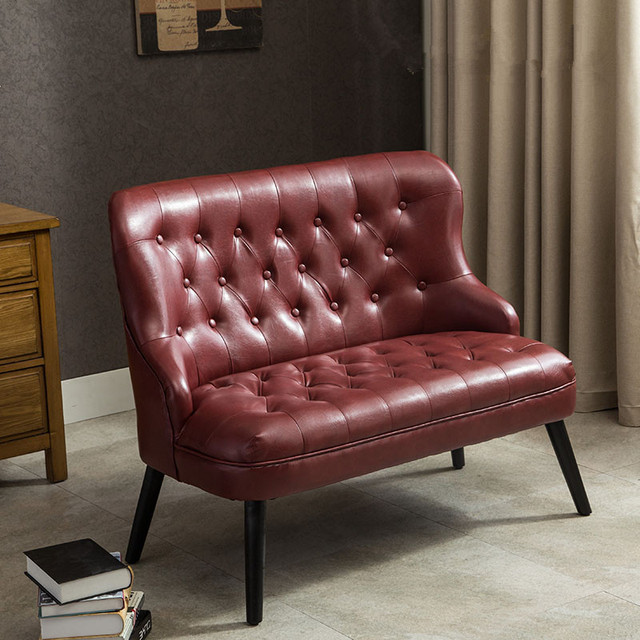 living room furniture leather and upholstery dark teal curtains modern design 2 seater chesterfield sofa european style seat